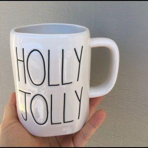 Rae Dunn Other - rae dunn double side holly jolly mug